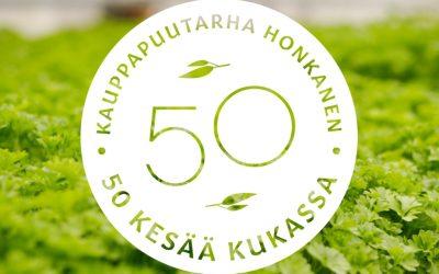 Kauppapuutarha Honkanen- 50 kesää kukassa